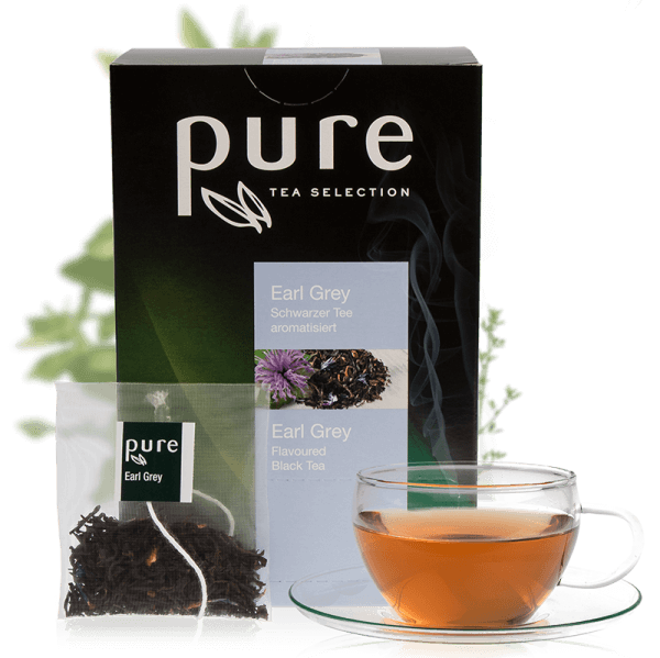 Tchibo Pure Tee Tea Selection Blumig Frischer Earl Grey 25 Beutel