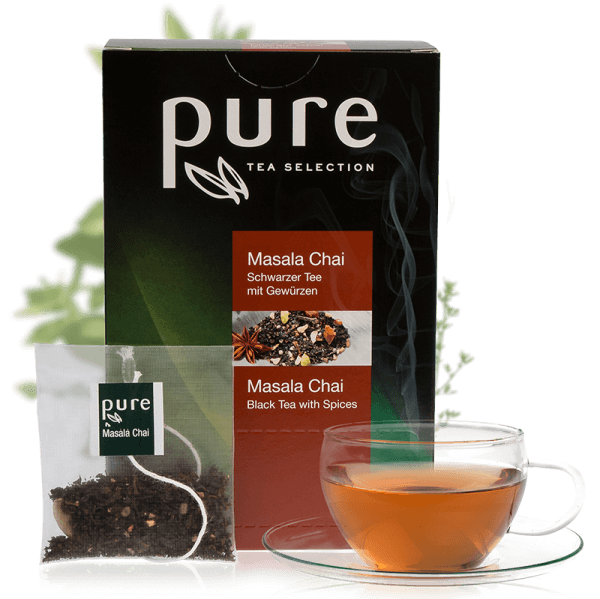 Tchibo Pure Tee Tea Selection Masala Chai 25 Beutel