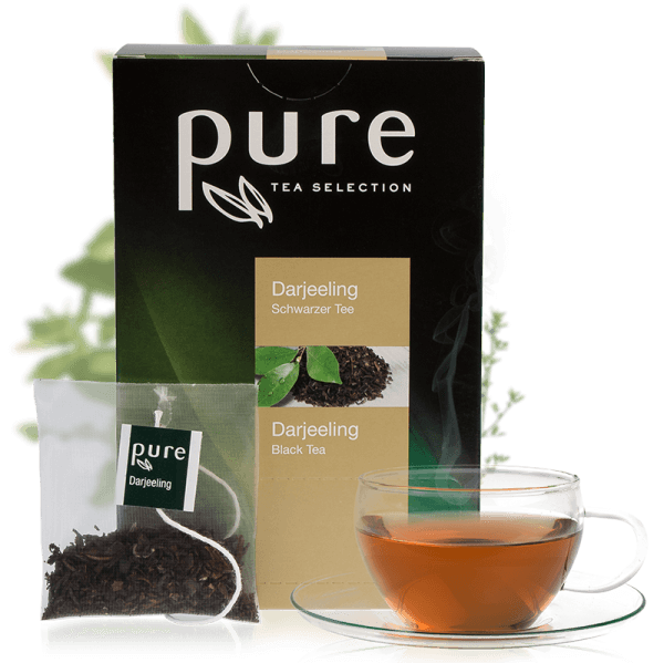 Tchibo Pure Tee Tea Selection Darjeeling 25 Beutel