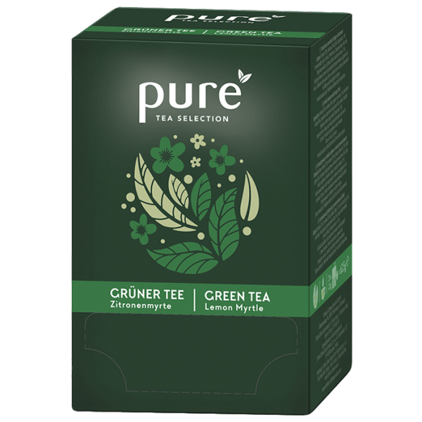 Tchibo Pure Tee Tea Selection Grüner Tee