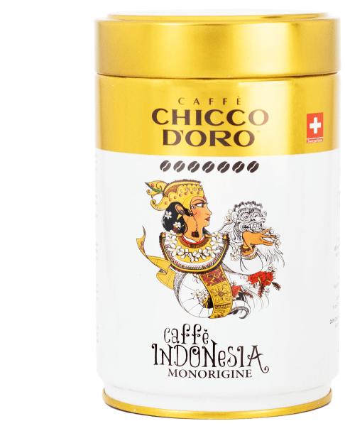 Chicco d'Oro INDONESIA Dose 250g, ganze Bohnen