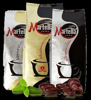 Martella Probierpaket mit 3 Sorten, 3x1000g Bohnen