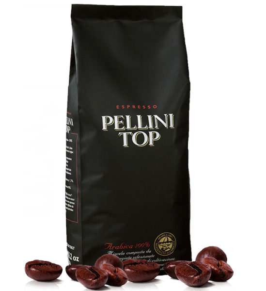 Pellini Top 100 % Arabica 1kg Kaffee - Espresso Bohnen