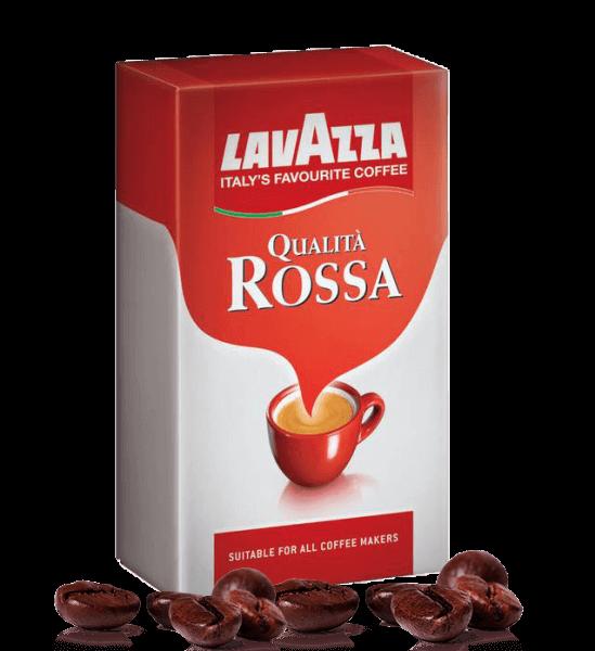 Lavazza Qualita Rossa Espresso Kaffee 3 x 250 Gramm gemahlen