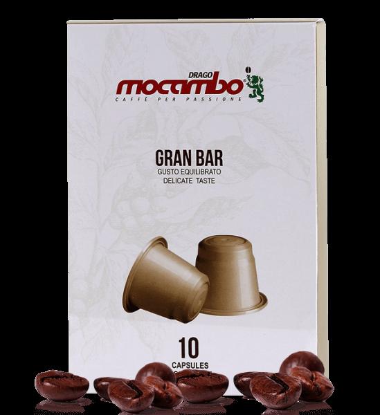 Mocambo Gran Bar Kapseln Nespresso® System kompatibel - 10 Stück
