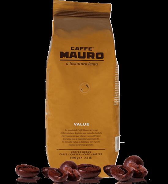 Mauro Caffe Vending Value Espresso Kaffee 1kg Bohnen