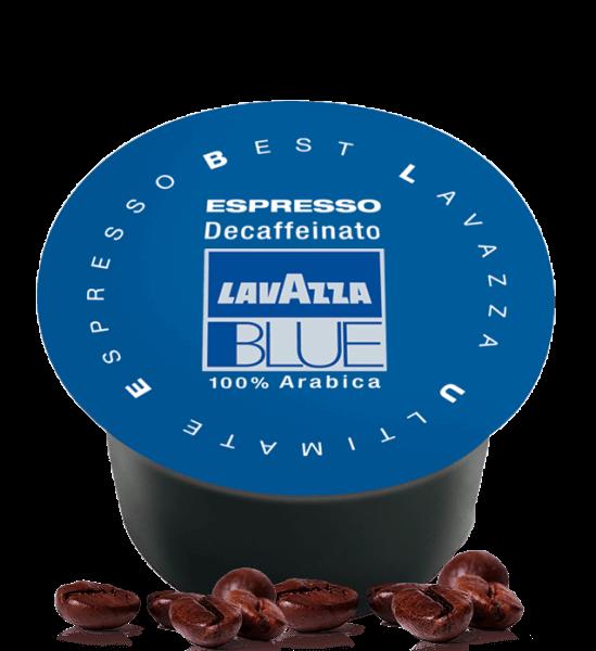 Lavazza BLUE Decaffeinato Koffeinfrei Kapseln Nr. 800