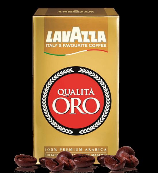 Lavazza Qualita Oro Espresso Kaffee 3 x 250 Gramm gemahlen