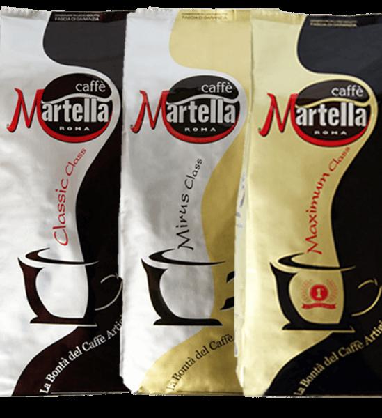 Martella Caffe Probierpaket  3 x 1kg Bohnen