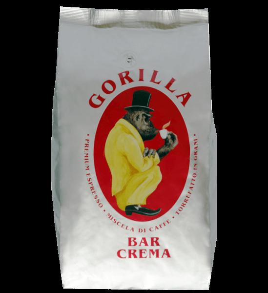 Gorilla Bar Crema 1kg Bohnen