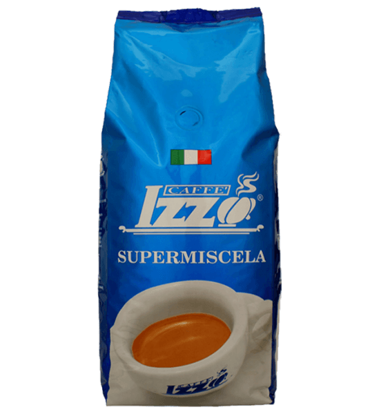 Izzo Supermiscela Silver Espresso Kaffee 1000 Gramm Bohnen Tüte
