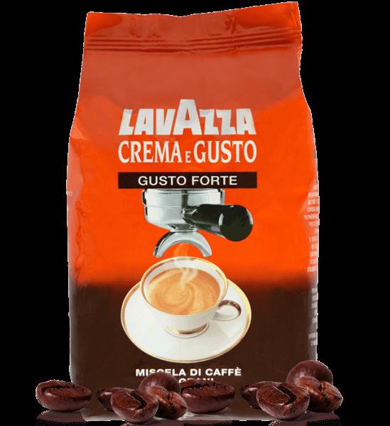 Lavazza Crema e Gusto Forte Espresso Kaffee 1000 Gramm Bohnen