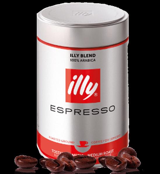 Illy Röstung N rot Espresso Kaffee 250 Gramm gemahlen