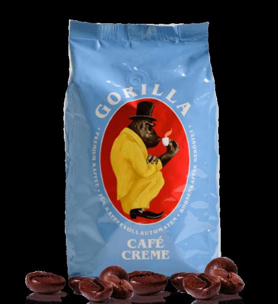 Gorilla Cafe Creme Espresso 1000 Gramm Bohnen