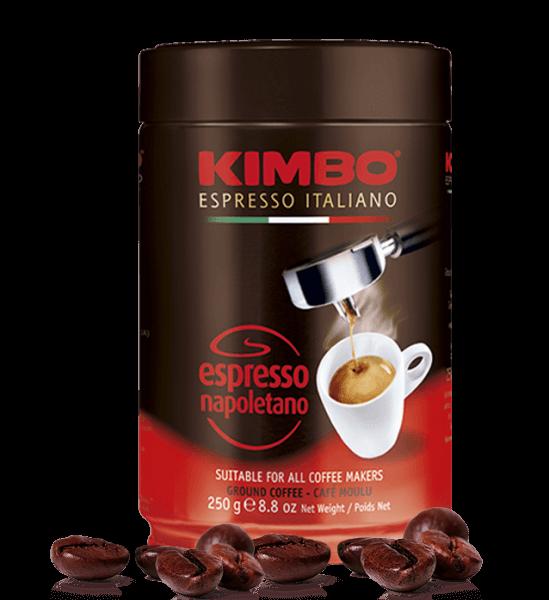 Kimbo Napoletano, Kaffee 250 Gramm gemahlen Dose