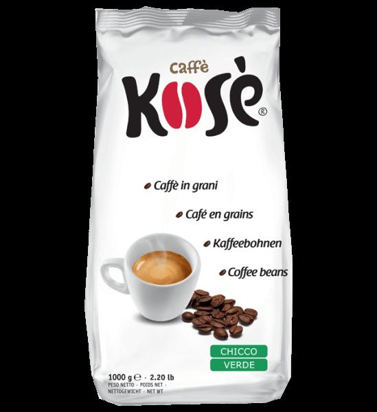 Kosé Chicco Verde Kimbo, 1kg Espresso Bohnen