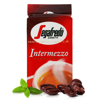 Segafredo Intermezzo Espresso Kaffee 3 x 250 Gramm gemahlen