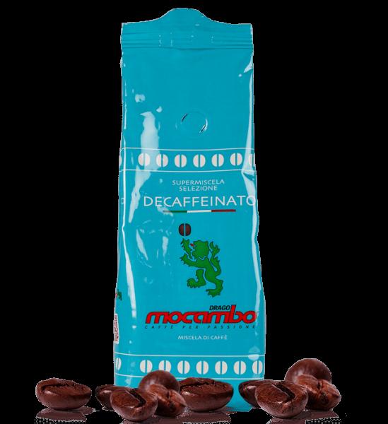Mocambo Brasilia Crema e Aroma Koffeinfrei Espresso Kaffee 250g Bohnen