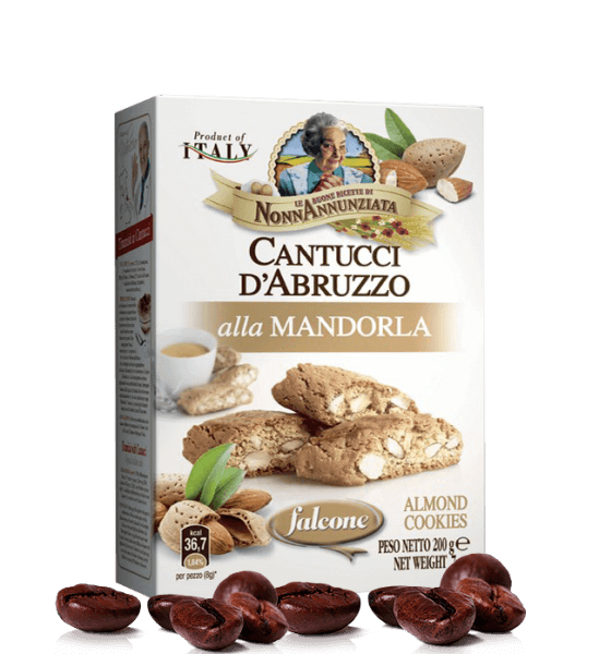 Cantucci d Abruzzo alla Mandorla - 200g - Falcone