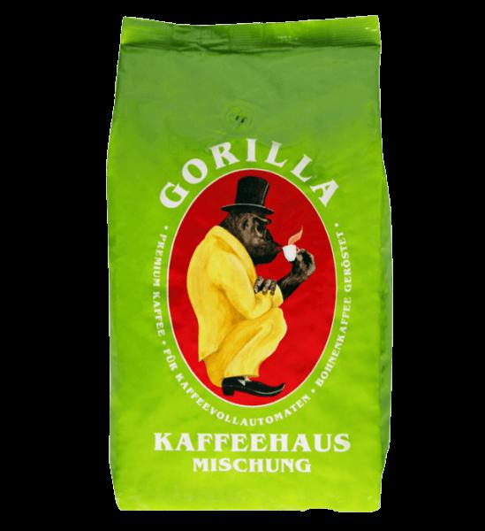 Gorilla Kaffeehausmischung Espresso 1000 Gramm Bohnen