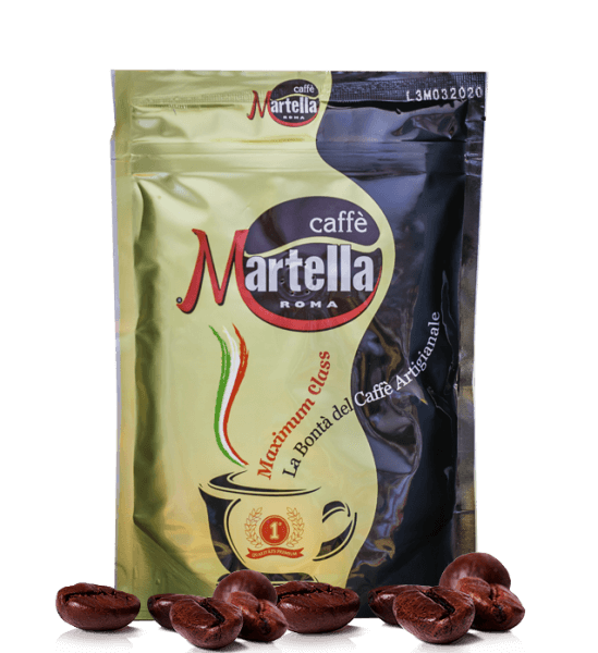 Martella Maximum Class Espresso Kaffee 250 Gramm Bohnen