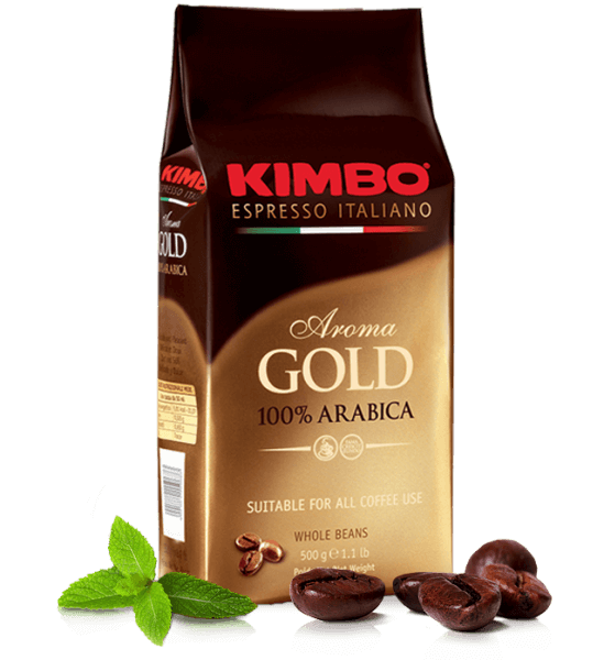 Kimbo Arabica, Kaffee Espresso 1kg Bohnen