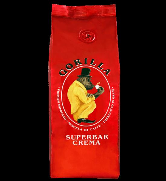 Gorilla Kaffee Super Bar Crema Espresso 250 Gramm Bohnen