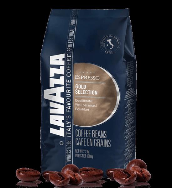 Lavazza Gold Selection Espresso Kaffee 1000 Gramm Bohnen