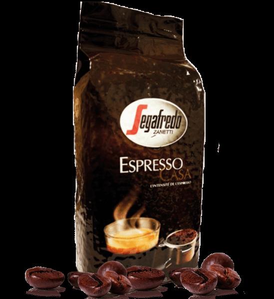 Segafredo Espresso Casa Espresso Kaffee 1000 Gramm Bohnen