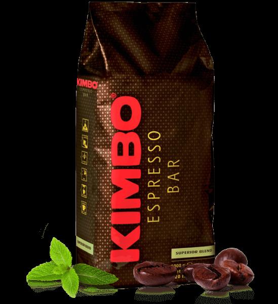 Kimbo Superior Blend, Kaffee 1kg Bohnen