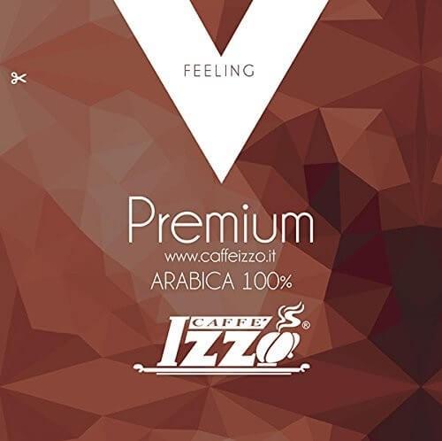 Izzo Arabica Gold Pads 150 Stück