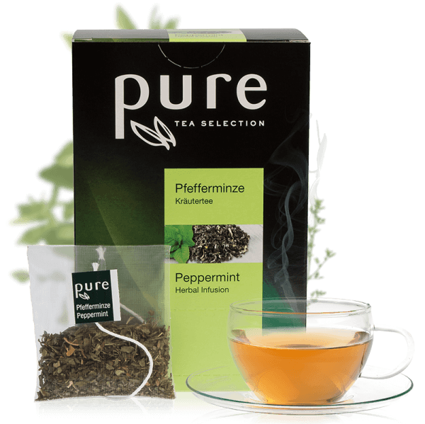 Tchibo Pure Tee Tea Selection Pfefferminze 25 Beutel