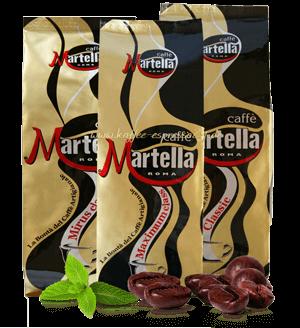 Martella Probierpaket mit 3 Sorten, 3 x 250g Bohnen