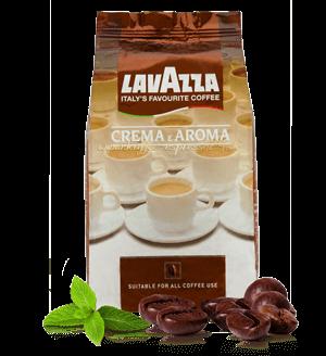 Lavazza Crema e Aroma Espresso Kaffee 1000 Gramm Bohnen
