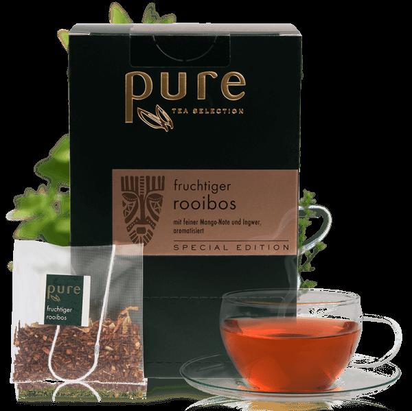 Tchibo Premium Pure Tee Fruchtiger Rooibos veredelt 25 Beutel