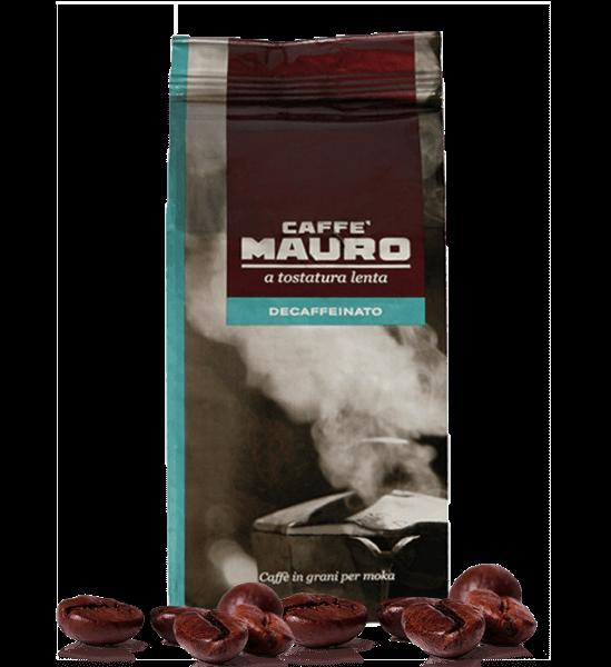Mauro Caffe koffeinfrei Decaffeinato Espresso Kaffee 500 Gramm Bohnen