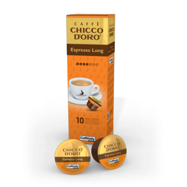 Chicco dOro Espresso Long Kapseln, 10 Kapseln