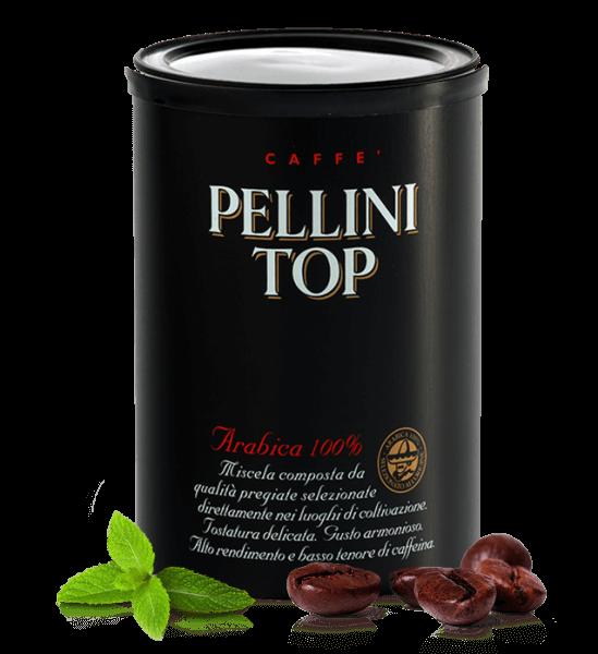 Pellini Top 100 % Arabica 250 Gramm Kaffee - Espresso gemahlen