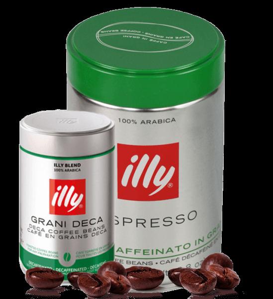 Illy koffeinfrei Espresso Kaffee 250 Gramm Bohnen
