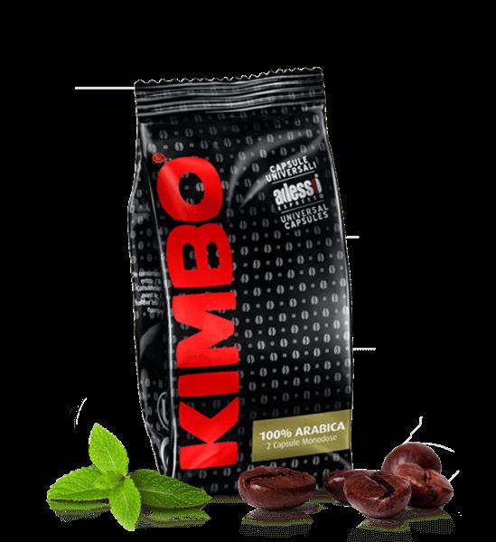 Kimbo Espresso Arabica - Kaffeekapseln 50 x 2 Stück