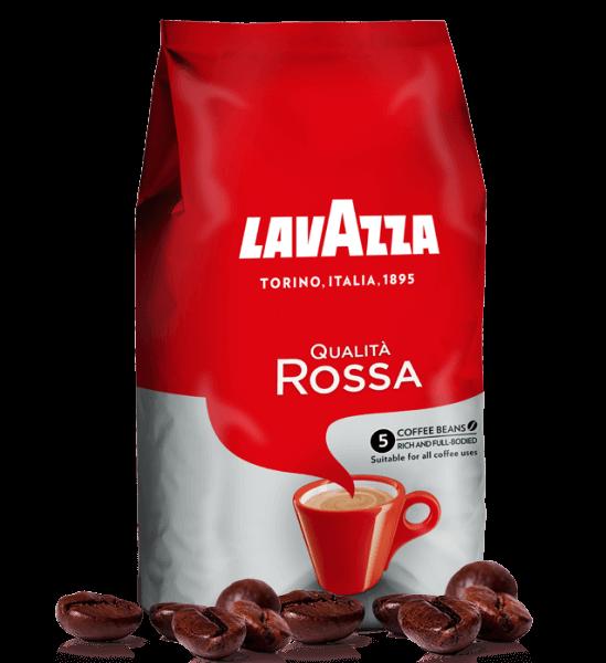 Lavazza Qualita Rossa Espresso Kaffee 1000 Gramm Bohnen