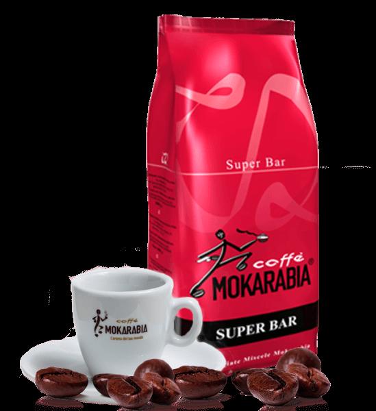 Mokarabia Super Bar Espresso Kaffee 1kg Bohnen