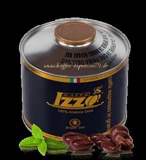 Izzo 100% Arabica Espresso Kaffee 1000 Gramm Bohnen Dose