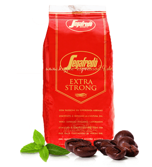 Segafredo Extra Strong Espresso Kaffee 1000 Gramm Bohnen